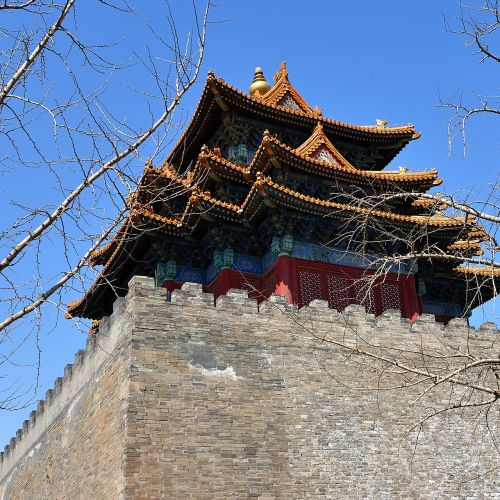 the national palace museum turret beijing