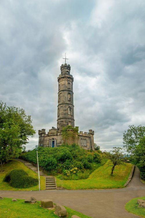 the nelson monument edinburgh nelson