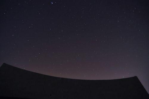 the night sky negev israel