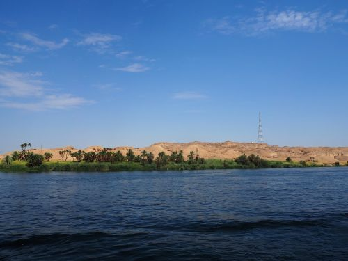 the nile egypt aswan
