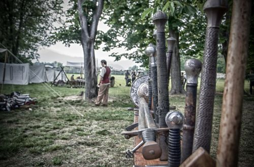 the nineteenth century event swordsmen