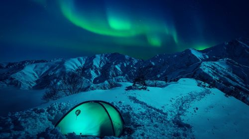 the northern lights radiance the polar circle