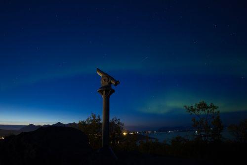 the northern lights aurora northern norway