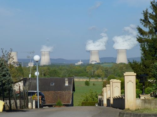 the npp cattenom moselle