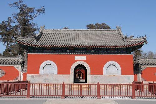 the old summer palace  daikaku-ji temple  stone gate