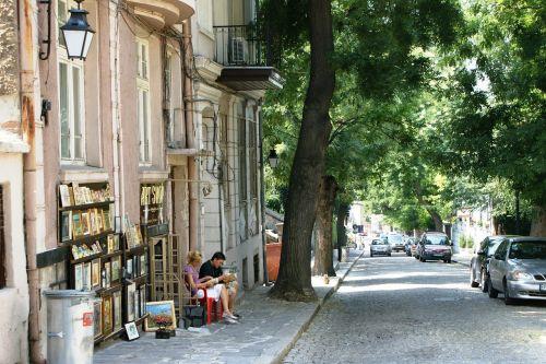 plovdiv bulgaria street