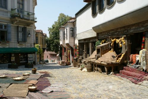 the old town plovdiv bulgaria
