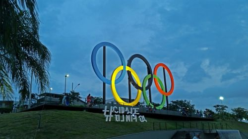 the olympic city rio de janeiro square