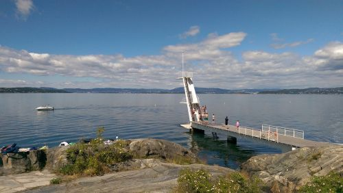 the oslo fjord oslo diving board