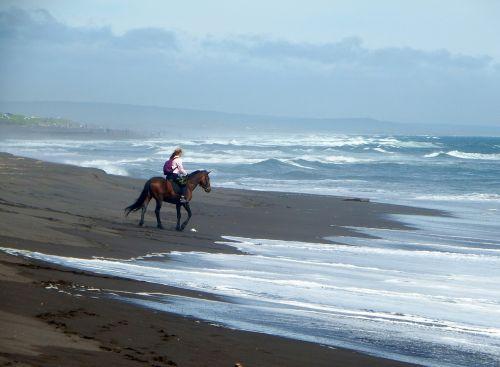 the pacific ocean beach sand