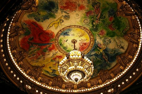 the paris opera opéra garnier chagall