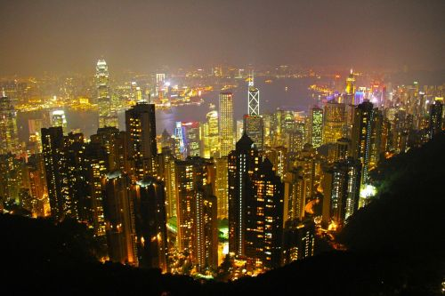 the peak hong kong scenic