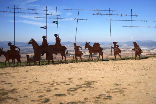the pilgrim spain camino de santiago de compostela