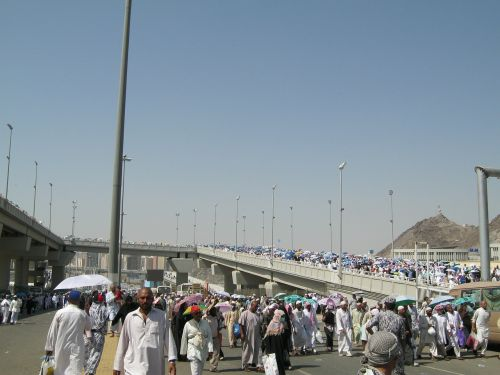 the pilgrim's guide mecca jamarat