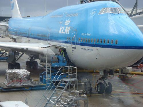 the plane airport jumbo jet