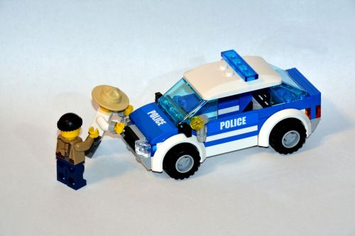 the police arrest lego
