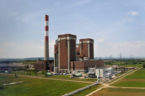 the power plant dürnrohr thermal power plant block