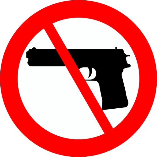 the prohibition of the ban of firearms it is forbidden to carry a weapon