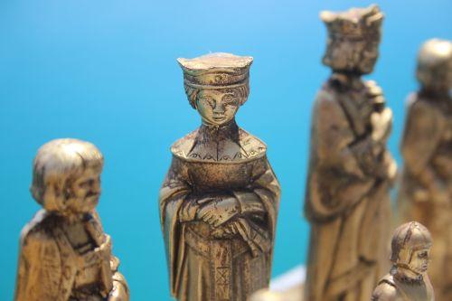 the queen renaissance chess piece outdoor chess piece