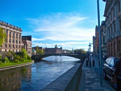 the riksdag stockholm channel