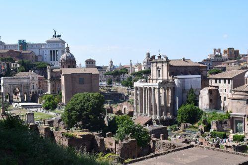 the roman forum ancient rome history