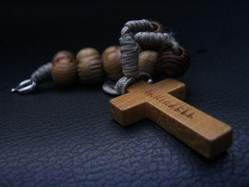 the rosary prayer cross