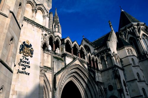 the royal courts of justice london court
