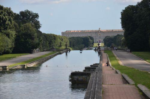 the royal palace of caserta campania italy