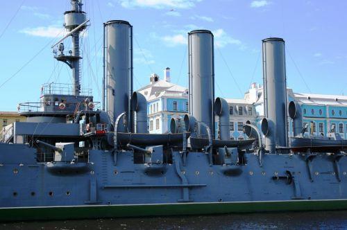 The Russian Cruiser, Aurora