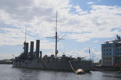 The Russian Cruiser, The Aurora