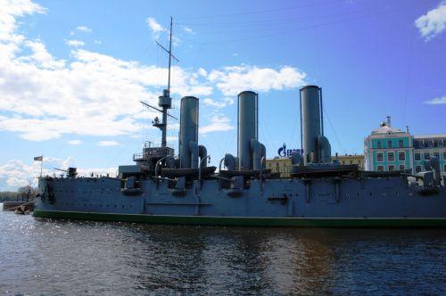 The Russian Cruiser The Aurora