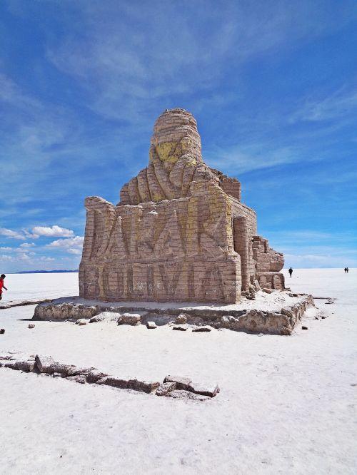 salar de uyuni,Dakaro ralis,Bolivija,uyuni,paminklas,pus,druskos dykuma