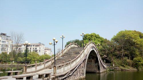 the scenery fuzhou people's park ishibashi