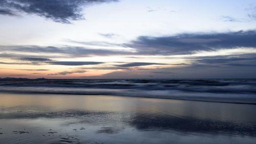 the scenery sabah beach