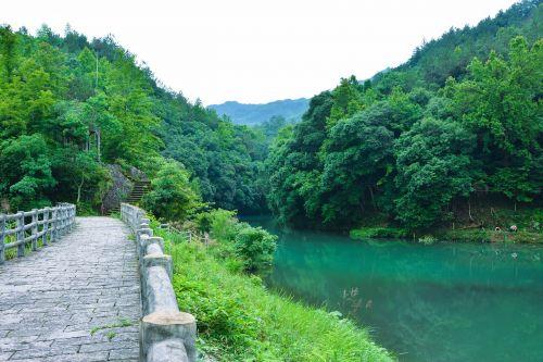 kraštovaizdis,zhai liao creek,kalnas,rezervuaras,dangas,gamtos kraštovaizdis