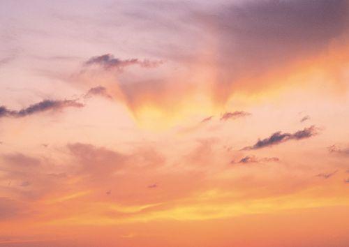 kraštovaizdis,saulėlydis,geltona,rožinis,dangus,vakaro naujienos,vakarinis dangus,purpurinis dangus,geltonas dangus
