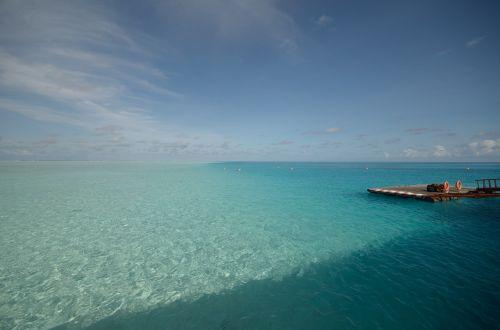 the sea gradient views