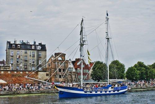 the ship  sailing ship  cruise