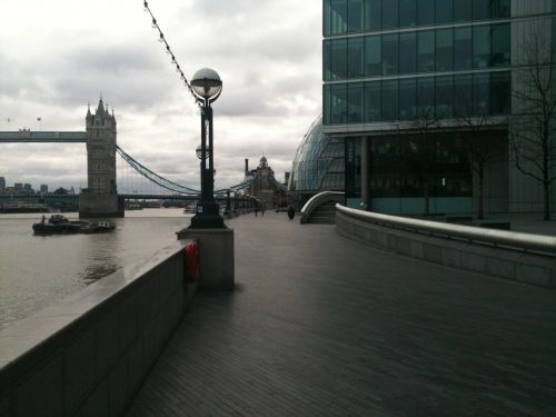 The South Bank Of The River Thames