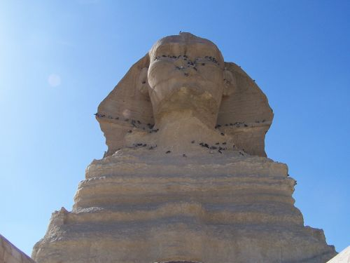 the sphinx giza egypt