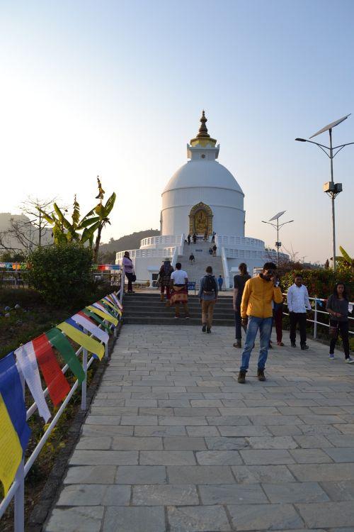 the stupa nepal pokhara