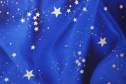 the substance,blue fabric,stars,pattern,blue,silver,silver stars,macro,christmas,background,christmas background
