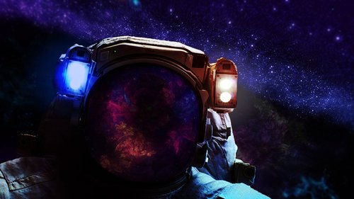 the suit  cosmos  nebula