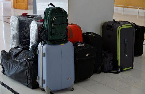 the suitcase luggage travel