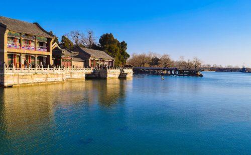 the summer palace kunming lake beijing