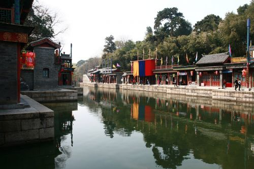 the summer palace china train cross-strait