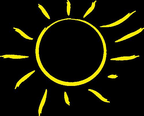the sun sweetheart yellow