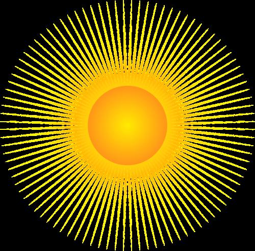 the sun the rays rays of the sun