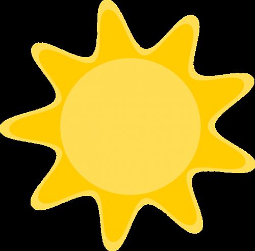 the sun sunny figure