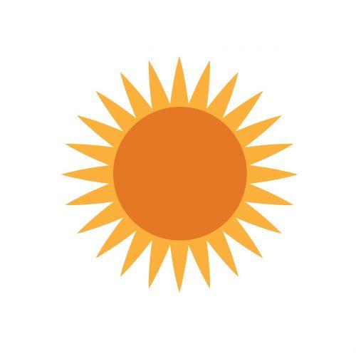 the sun hot outdoor